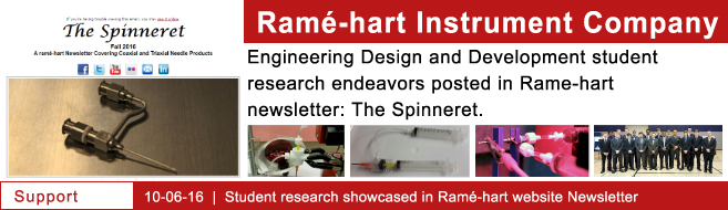 Rame-Hart Instrument Company posts student research in their newsletter!
