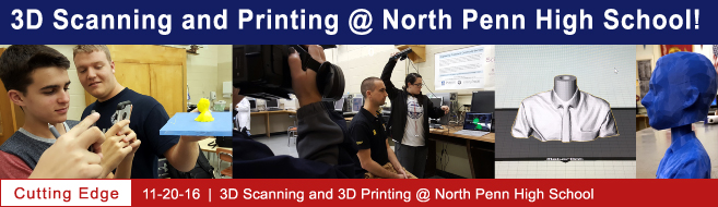 3D Scanning and Printing @ NPHS!