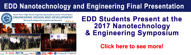 North Penn High SchoolEngineering Academy Seniors Present Their Nanotechnology and Engineering Research! 5-30-17